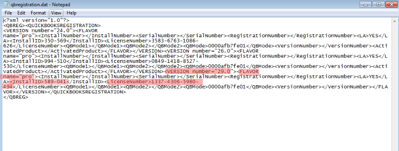 QBRegistration File